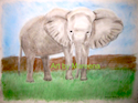Elephant for a Child's Room I